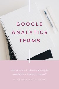 google analytics terms definitions