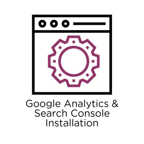 google analytics & search console installation