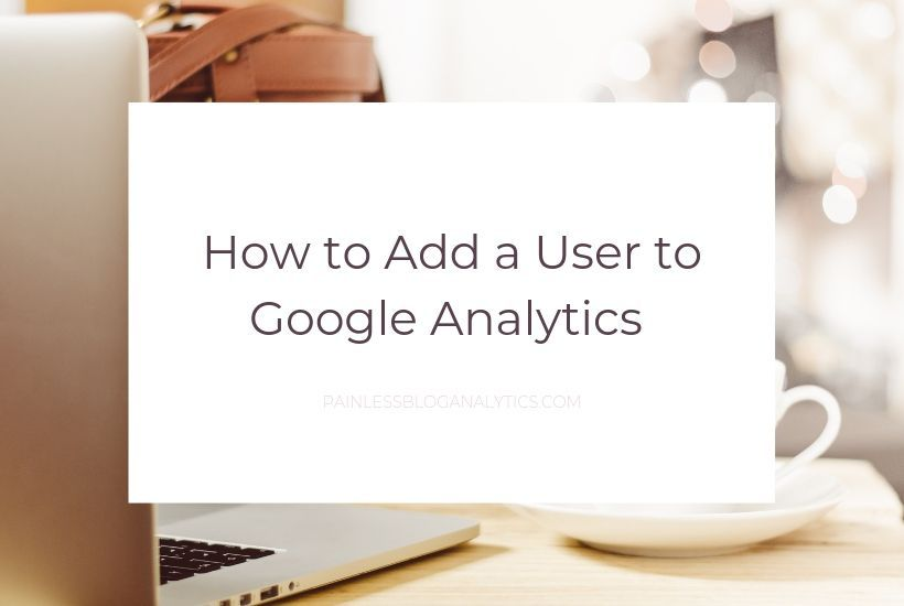 add user to google analytics