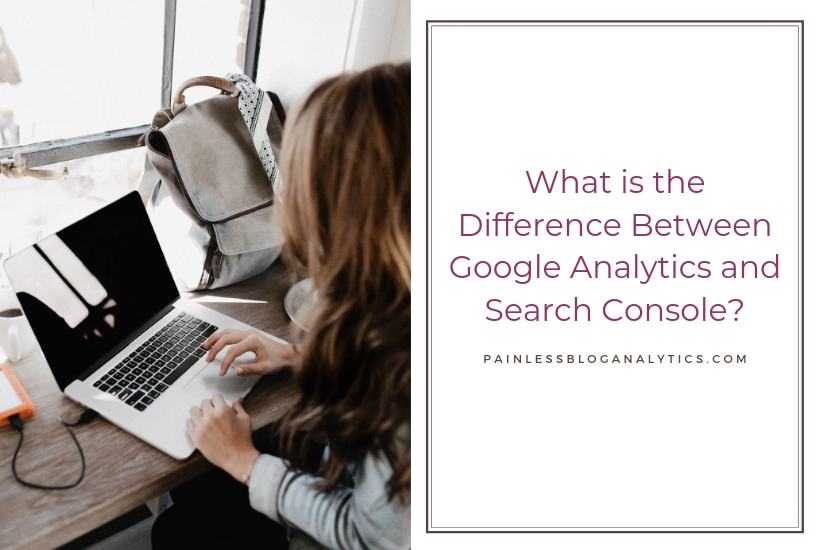 difference between analytics and search console