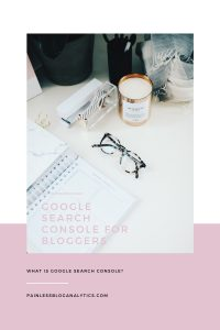 google search console for bloggers