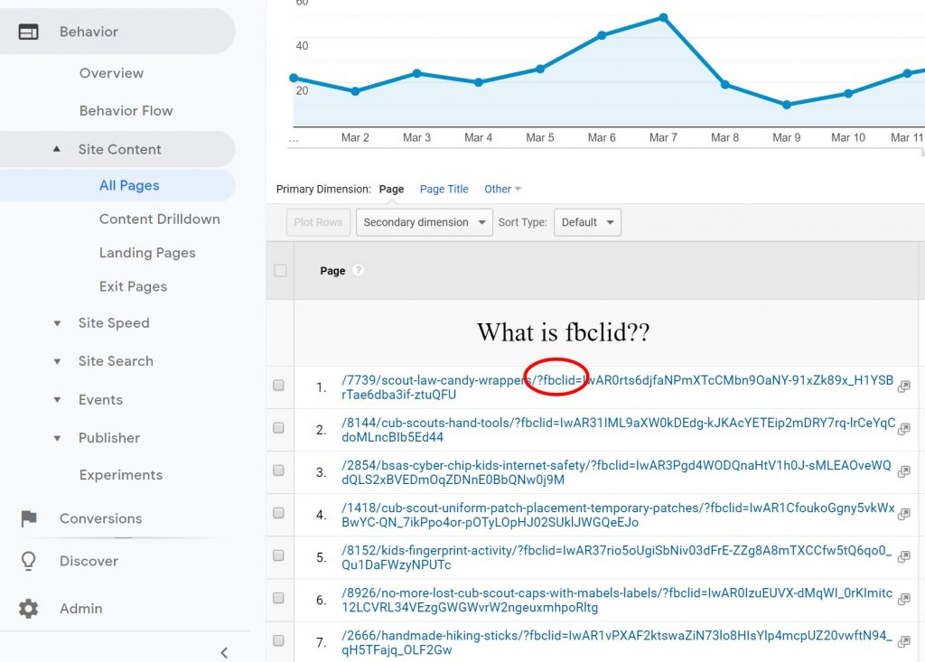 fbclid in google analytics