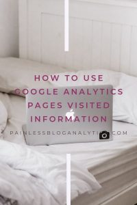 how to use pages visited information