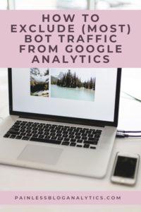 filter bots from google analytics