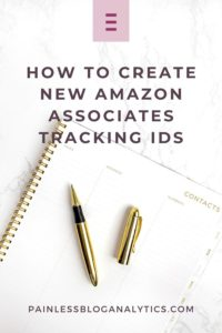 amazon tracking ids p1