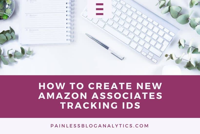 create amazon tracking ids bg