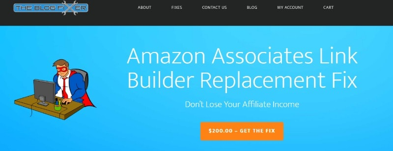 blog fixer for amazon links