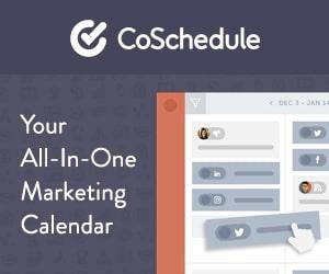 coschedule editorial calendar