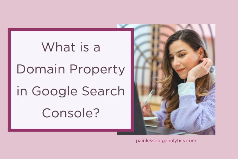 google search console domain property