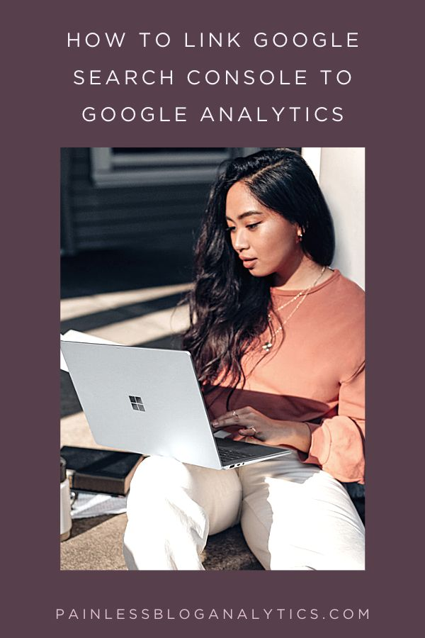 how to link google search console to google analytics p